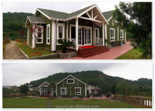 2017 new design wood house log cabin china prefabricated homes