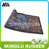 Large size rubber material stitching edge gaming mouse pad