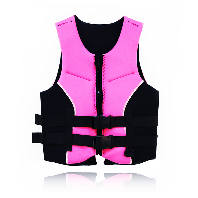 fashion design neoprene life vest for water sports