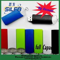 Red Color silicone memory usb drive for promotional gift