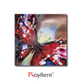 High quality Hand painted butterfly decorative oil painting for living room