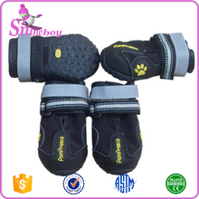 Dog Boots Waterproof Dog Shoes for Large Dogs and Black Labrador Waterproof 4 Pcs