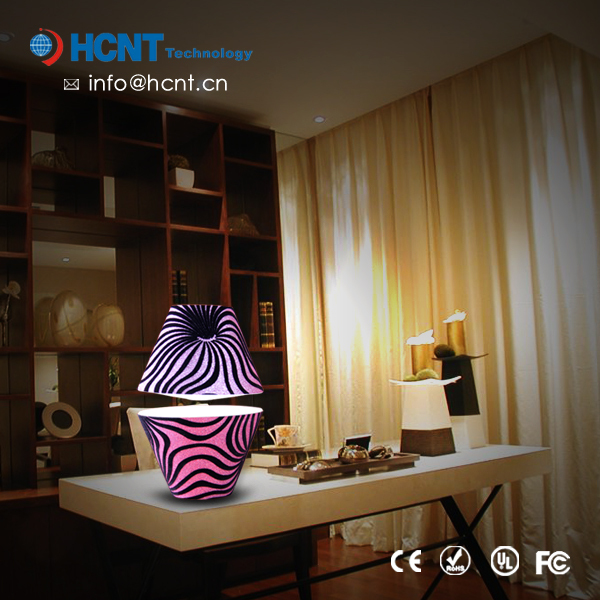 Floating hotel lighting for guest room, lamps nightstand, lamps switch on base