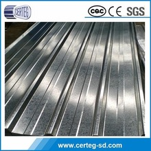 GI galvanized / galvalume corrugated steel metal roofing type of iron metal