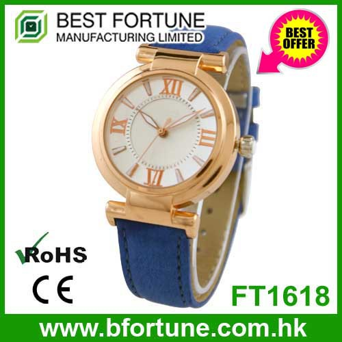 FT1618 Lowest price japan pc21 quartz movement geneva watches