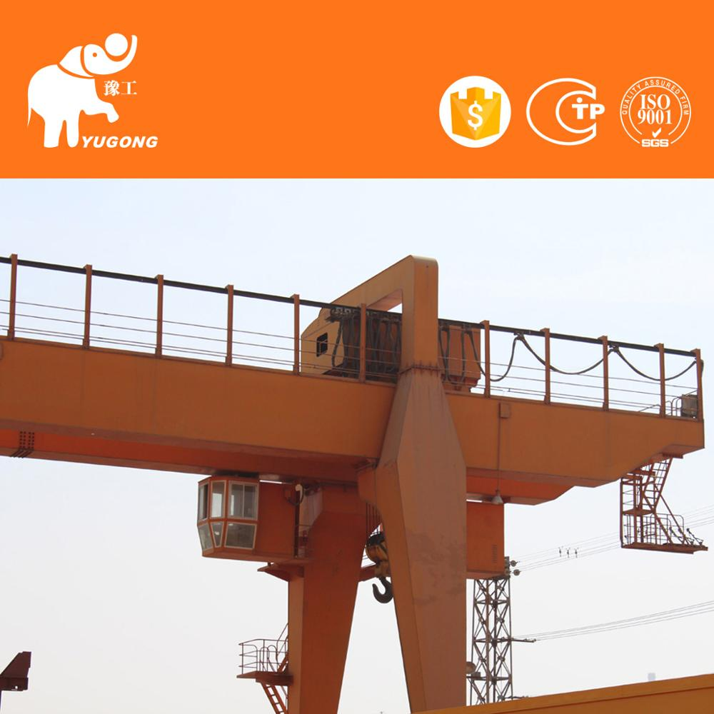 Ce/Iso Certification Cantilever 60 Ton Handling Launching Gantry Crane Double Girder With Design