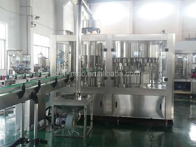 Bottled Pure water washing filling capping machine 3in1, water bottle filler, water filler equipment