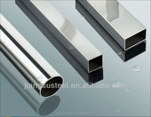 grade 304 316L stainless steel round pipe for balcony railing prices