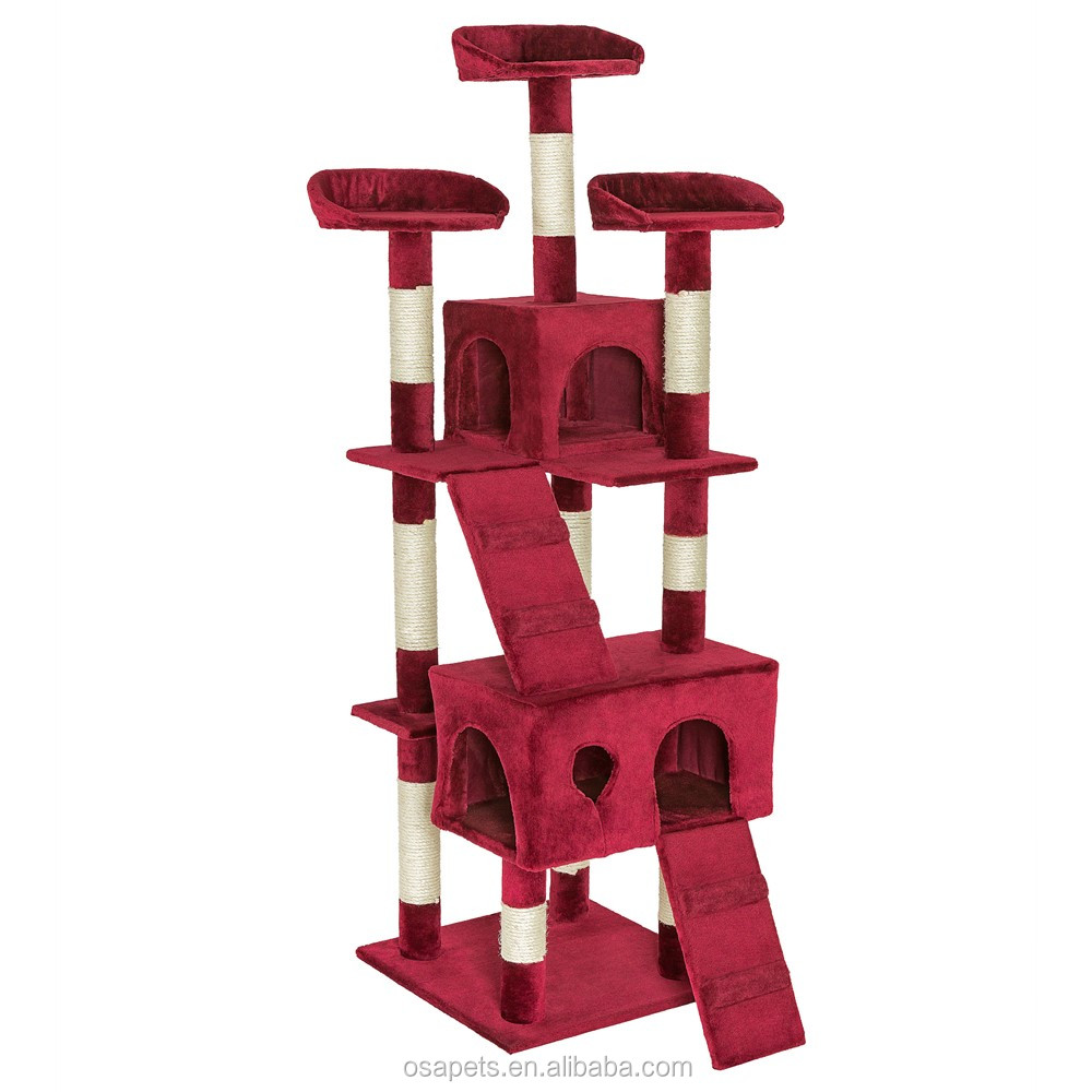 Sisal cat tree condo,cat scratcher,cat toy