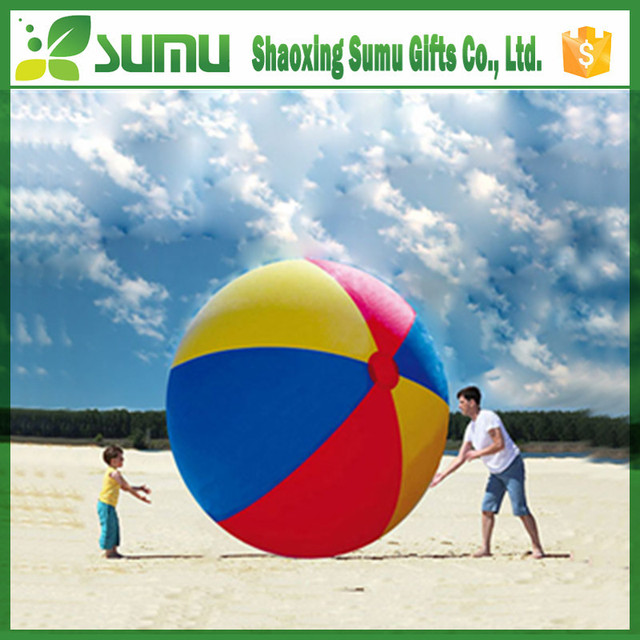 Hot Sale big 36inch 1 color crystal clear inflatable promotion beach ball