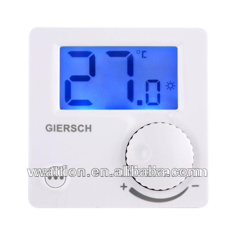 Blanco calefacci n termostato de ambiente digital con ce - Termostato ambiente digital ...