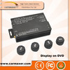 Tire Pressure Monitoring System car DVD motorcycle tpms with external 4 wheels sensor