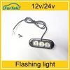Factory Wholesale 12v 24v led car extra light strobe light flashing light