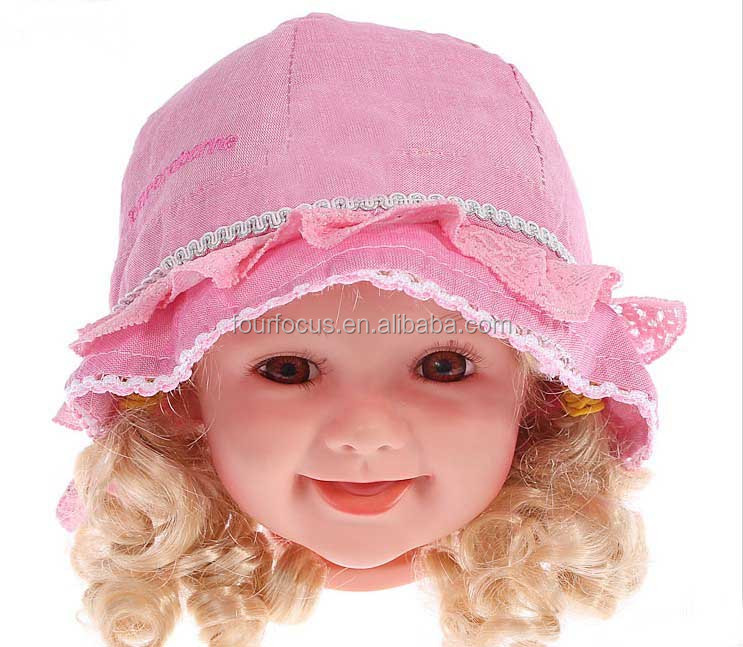 Unisex Baby Kid Child Toddler Boy Infant Sun Protection Bucket Hat