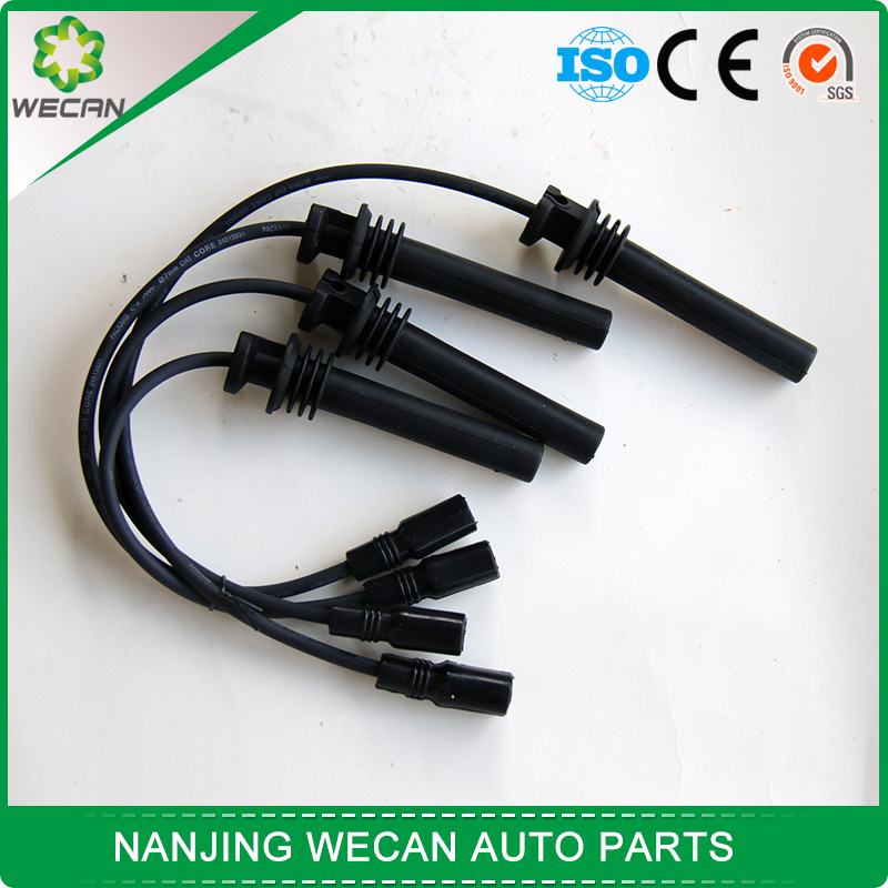 car high pressure line/ automobile ignition cable,car silicone spark plug cable , car spark plug wire manufacture