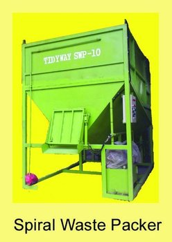 Spiral Waste Bin / Screw Compactor