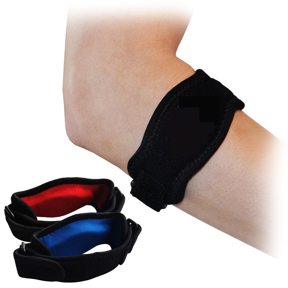 Tennis Golfer Elbow Strap Lateral Epicondylitis Brace Support Pain