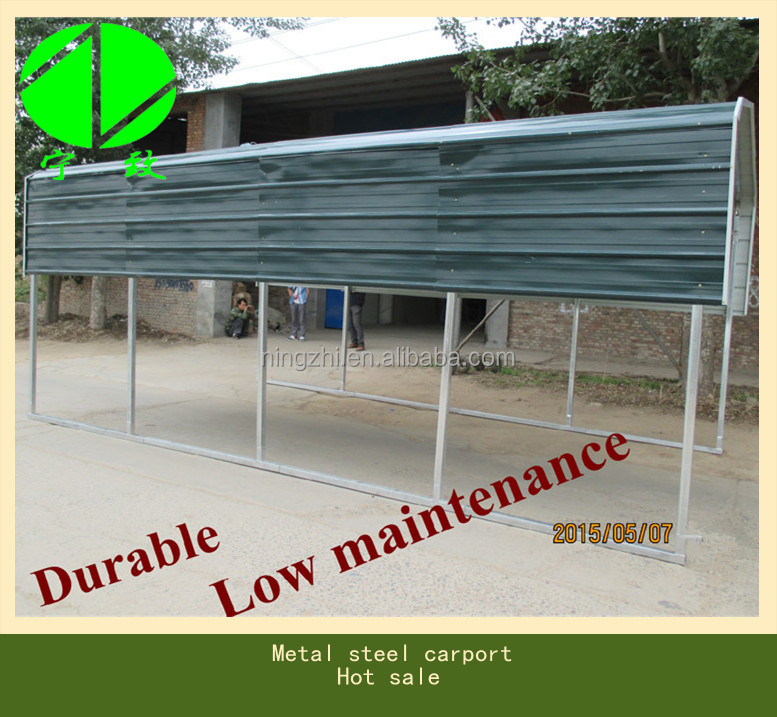 all steel carports and garages buy metal frame frame carport2 car metal carport product on alibabacom