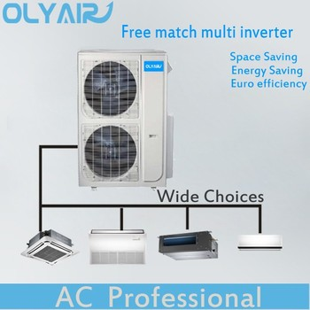 Free match ERP standard DC inveter multi air conditioner