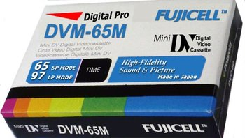Digital Pro Camcorder Recording Media Tapes Are Available