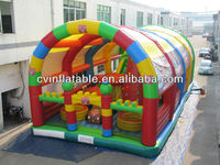 outdoor giant inflatable fun city,inflatable amusement park,inflatable fun land
