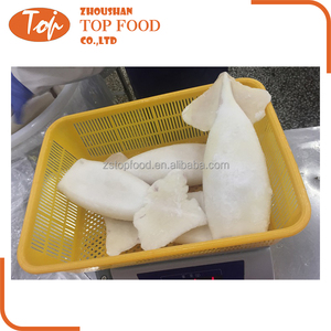 High Quality IQF Frozen Squid T and T tube and tentacle
