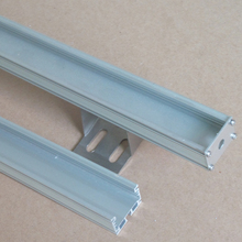 Aluminium allow die casting led U channel profile with PC shade