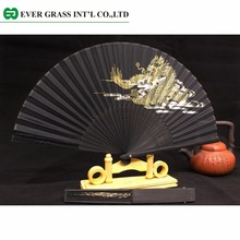 Chinese products costume dance hand fan wood