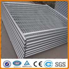 square steel galvanized temporary modular fence/barrier fence