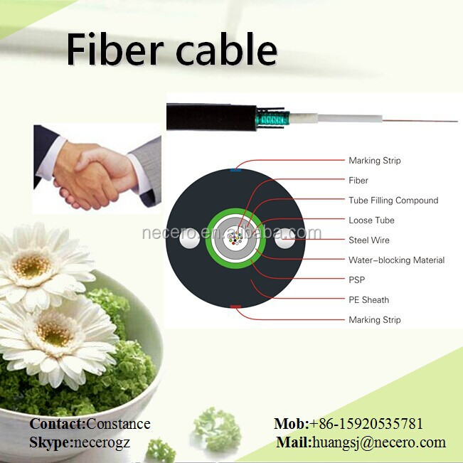 anti rodent fiber cable