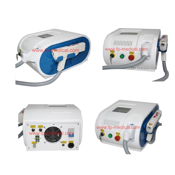 q switched nd yag laser/Laser tattoo removal machine/big power