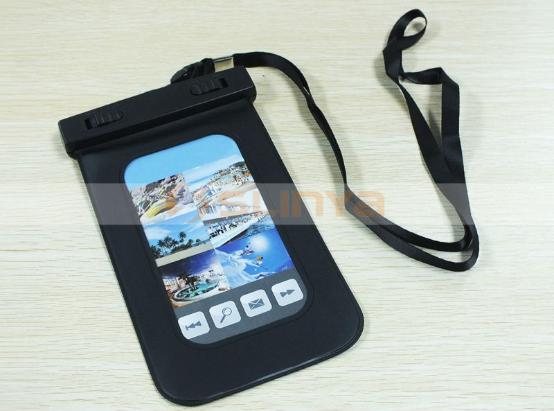 Clear View Window Waterproof Case for iPhone X 8 5.5inch 4.7inch Mobile Phone Waterproof Case