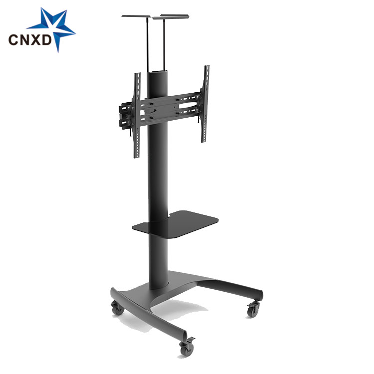Chinese factory supply tv stand furniture modern With Shelf up to VESA 600*400mm