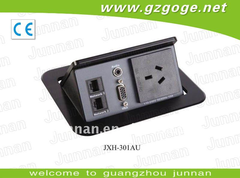 dust proof plug socket for conference tables