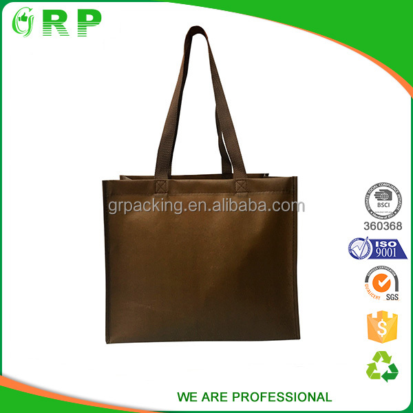 Personal logo printed expandable reuse promotional gift bag