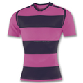 High quality design your own dark purple pink rugby league jerseys