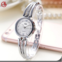 New Fashion 2016 Luxury Rhinestone Watches Women Stainless Steel Quartz Lady Watch Dropshipping