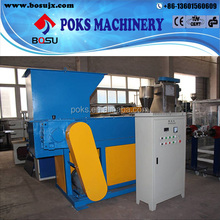 PP,PE,ABS Waste Plastic used single shaft shredder