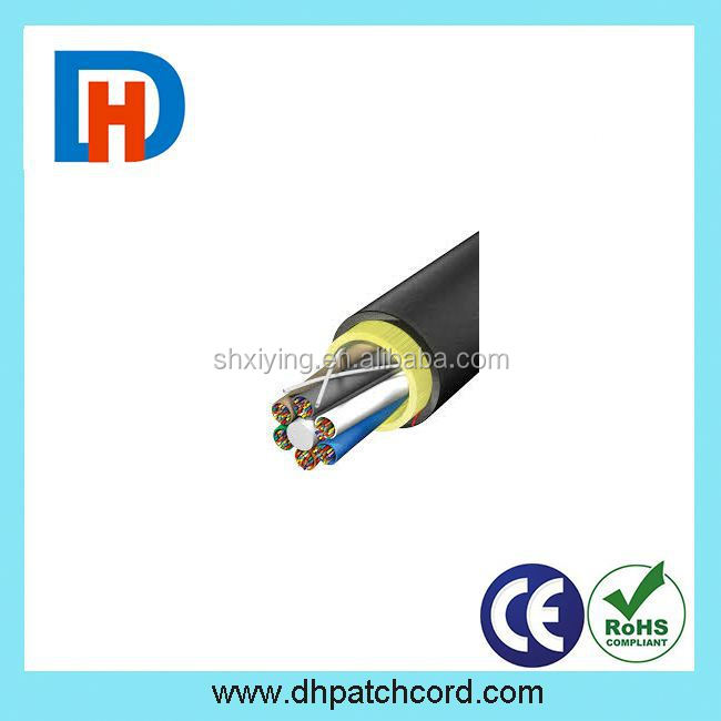 Indoor Duplex Zipcord corning OM3 Fiber Optic Cable with PVC / LSZH Jacket