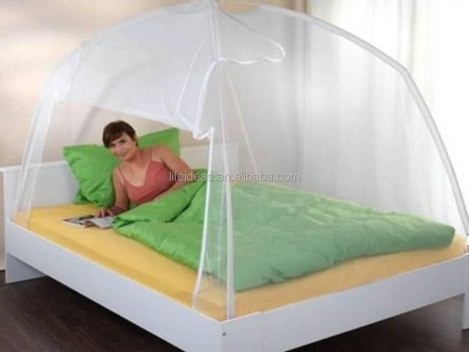 folding protable moskitonetz moskitonetz bett zelt zelt. Black Bedroom Furniture Sets. Home Design Ideas