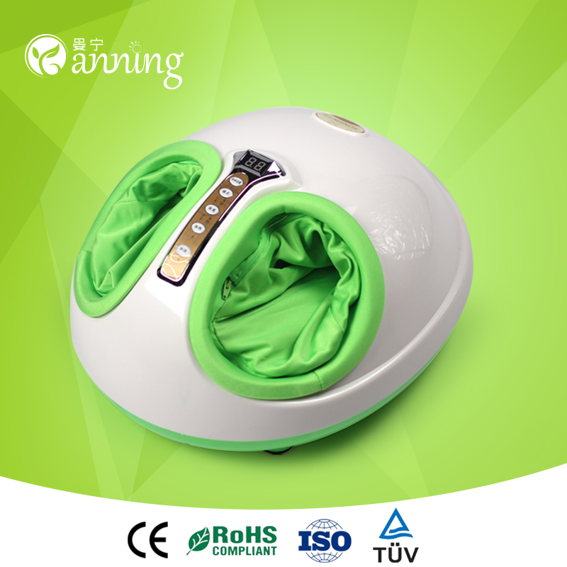 Excellent biological wave foot massager,blood circulating infrared reflexology foot massager,blood circulating massager machine