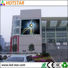 Customised Size IP65 Advertising Video Fixed Installation P8 Outdoor Full Color LED Display