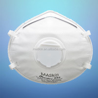 3 ply nonwoven N95 Valved Particulate air respirator