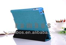 For iPad 2 3 4 Leather Case Crazy Horse Skin Smart Cover Case
