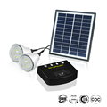 Hot Sale 2 Led Bulb Mobile Charging Rechargeable Solar Lighting System