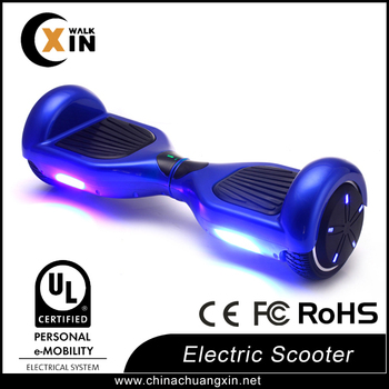 Most fashion With Bluetooth Rohs/FCC/CE Smart Self Balancing Electric Scooter