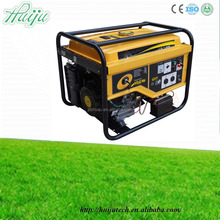 High quality with strong square frame portable gasoline generator for home use 5000W HJ-G5000 made in China