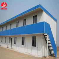modern design steel structural Prefabricated House Temporary Office building