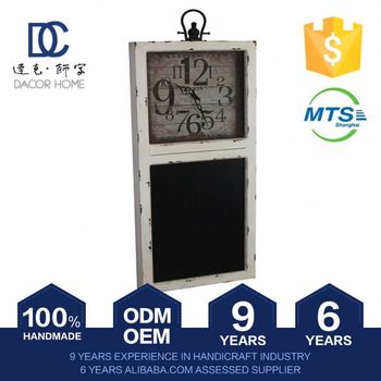 Highest Level Newest Model Direct Price Oem Service 100% Handmade Antique Wood Clock Cases