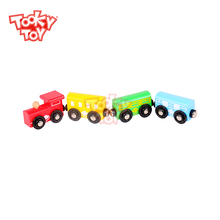 New Arrival Hot sale Wooden Train Set With Magnet